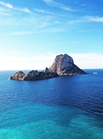 speculate: Magic rock of Ibiza. Es Vedra and Es Vedranell.