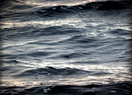 Black water or stormy sea texture or background.