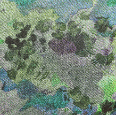 multiple exposure: Camouflage cloth or textile, close-up shot.