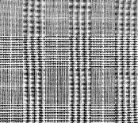 Checkered textile or cloth, close-up shot.