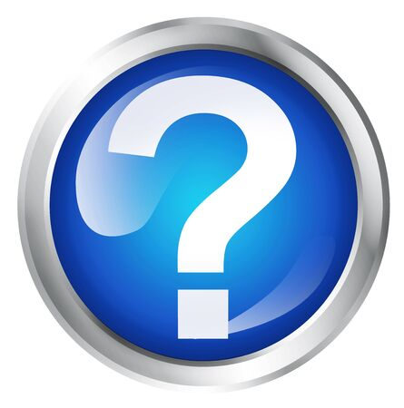 marrow: Glossy icon or button with question mark symbol.