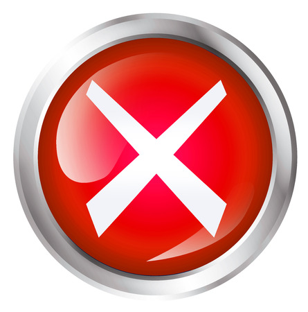 no trespassing: Glossy icon or button with cross symbol.