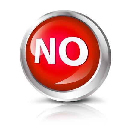 no symbol: Glossy icon or button with no symbol.