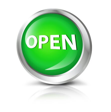 single entry: Glossy icon or button with opensymbol.