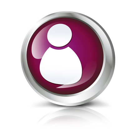 ADMIN: Glossy icon or button with admin symbol.
