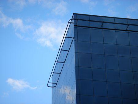 vitreous: Vitreous building in the Cloudy Sky.