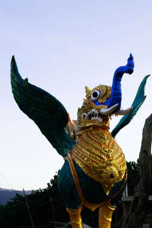 garuda: Lord Garuda Stock Photo