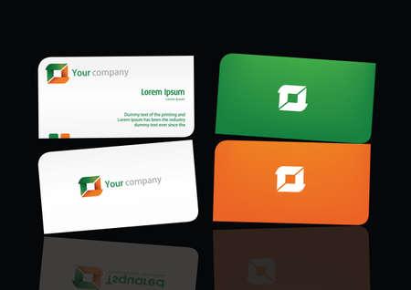 name card Vector