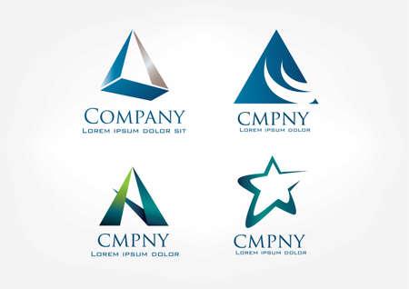 Professional Logo Template 01 Vector