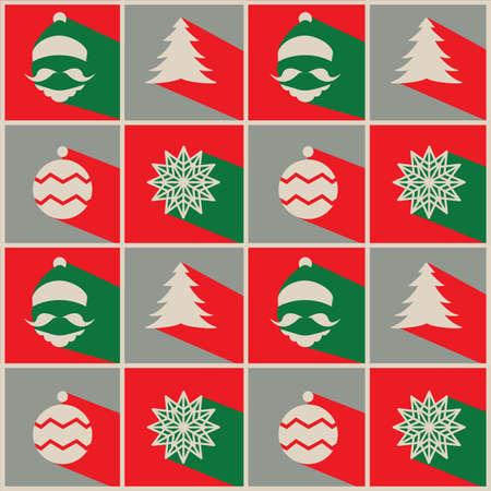 greeting christmas: Christmas greeting card Design