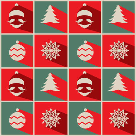 greeting card background: Christmas for Background or greeting card Design Illustration