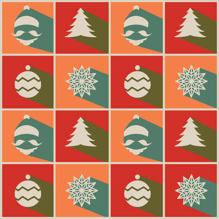 greeting card background: Christmast Greeting Card or Background Design