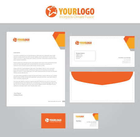Set of vector corporate identity templates modern business set of vector corporate identity templates modern business stationery design stock vector 64322946 accmission Images