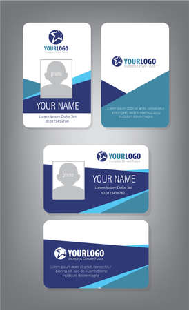 46 082 Id Card Stock Vector Illustration And Royalty Free Id Card