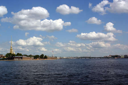 St. Petersburg - view river Neva