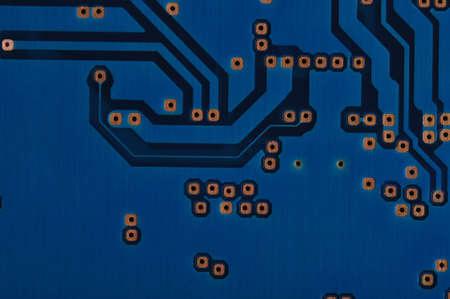 computer circuit board of a laptop internal hard drive photo