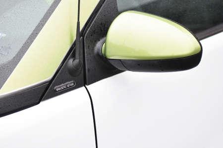 Detail van een Smart alle elektrische voertuigen Stockfoto