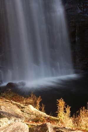 Looking Glass Falls, in Brevard, North Carolina