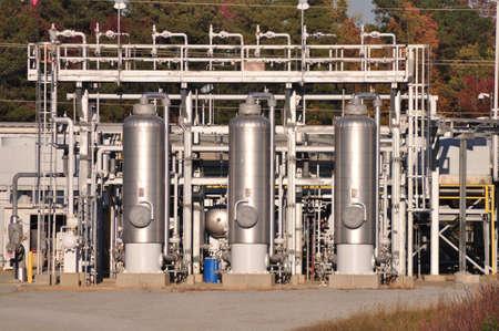 Distributiecentrum voor aardgas verzending en levering