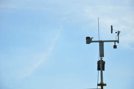 private use weather station located at North Carolina State University in Raleigh, North Carolina Stock Photo - 15216870