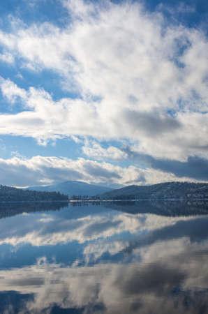 coeur: Prachtig uitzicht op het meer in Coeur d'Alene