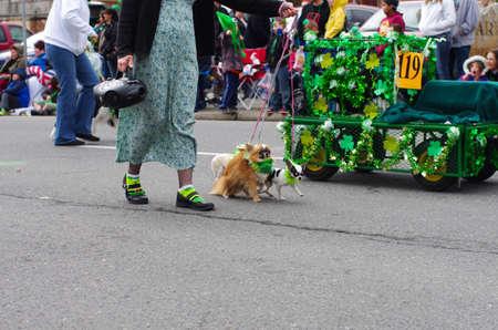 st  patty's: St  Patricks day parade in Spokane, Washington on 3-15-2014