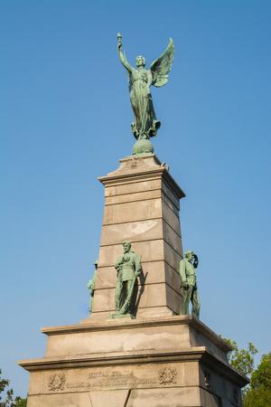Bureau County Soldiers And Sailors Monument.  Princeton, Illinois, USA