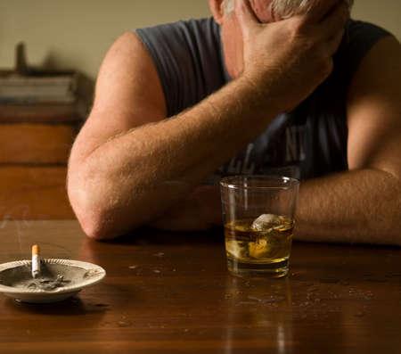 lovelorn: drunk and depressed