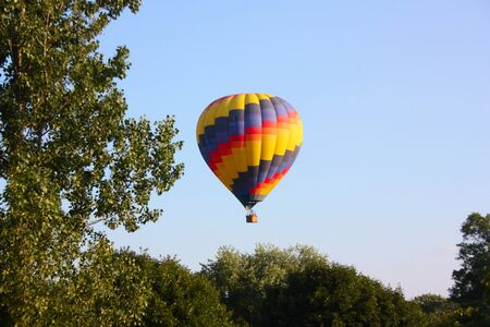 Hot Air Baloon Rising