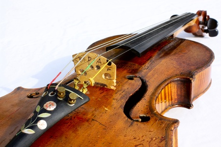 Violin at Rest