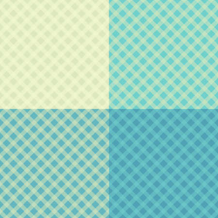 a tablecloth: Diagonal tablecloth seamless wallpaper pattern set. 4 in 1. Illustration