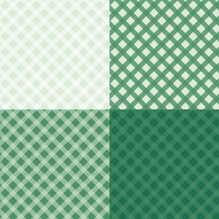 a tablecloth: Diagonal tablecloth seamless wallpaper pattern set. 4 in 1