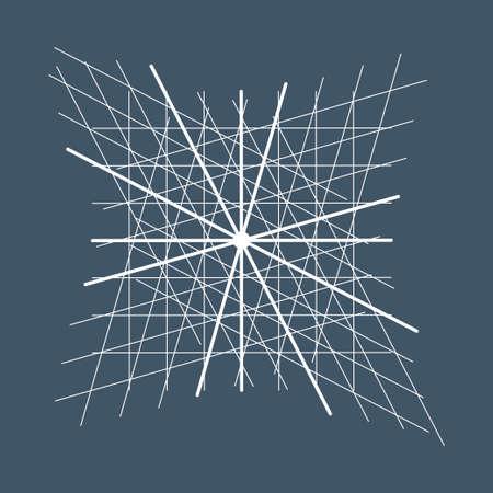 Heilige Geometrie symbool of element. Alchemy, religie, filosofie, astrologie en spiritualiteit thema's