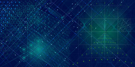 Sacred geometry symbols and elements background. Cosmic, universe, bing bang, alchemy, religion, philosophy, astrology, science, physics, chemistry and spirituality themes