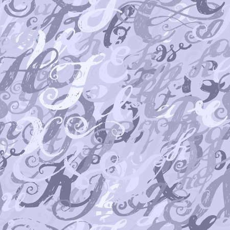alphabet wallpaper: Calligraphy alphabet typeset lettering. Seamless wallpaper pattern.  Hand drawn alphabet. Capital and lower-case letters. Hand drawn sketch of ABC letters in old fashion vintage style. Illustration