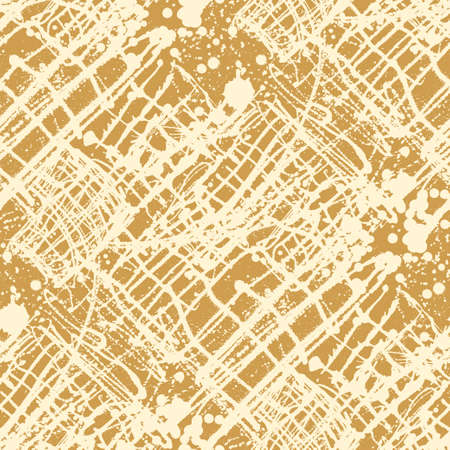 splattered: Splattered with dots seamless wallpaper pattern. Hand-drawn sprayed blots painted illustration. Artistic design of ink splashes on the surface. Creative backdrop elements for textile. Grunge texture. Illustration