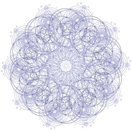 nombre d or: Sacré symbole géométrie étoile. Alchemy, la religion, la philosophie, l'astrologie et spiritualité thèmes. La matière, l'espace et le temps. Cosmic Espace Univers. objet étoile. Nombre d'or.