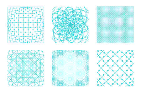 Sacred geometry background set. 6 in 1.  Cosmic, universe, big bang, alchemy, religion, philosophy, astrology, science, physics, chemistry and spirituality themes. Matter, space, time. 스톡 콘텐츠