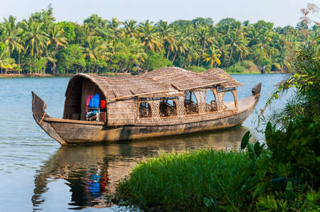 Backwaters in Kerala is a network of 1500 km of canals both manmade and natural, 38 rivers and 5 big lakes extending from one end of Kerala to the other.