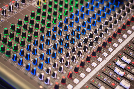 Sound control panel photo