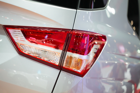 Car tail light photo