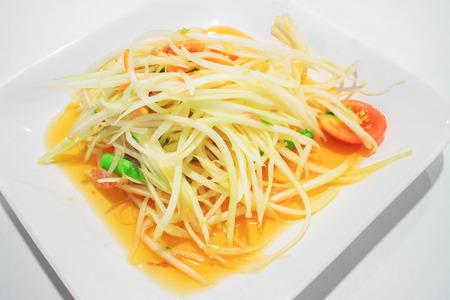 Green Papaya Salad  SOM TAM