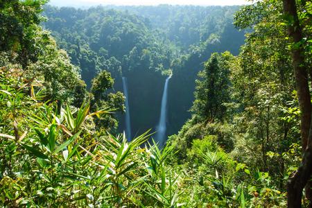 Big waterfall in Laos