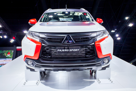 exposición: Impact Muangtong Thani,Thailand 29Mar-9April 38th Thailand Motorshow New Mitsubishi Pajero Sport