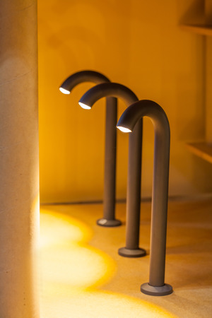 Modern walkway light for gardening decoration