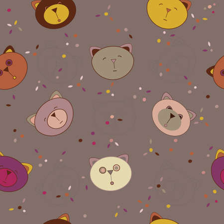 cute animal wallpaper Vector