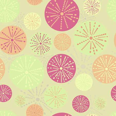 paeony: Vector flower pattern