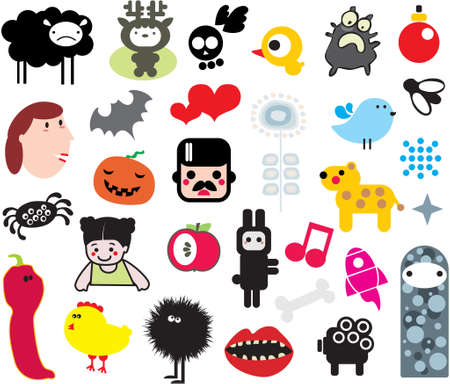 Mix of different vector images. vol.1 Vector