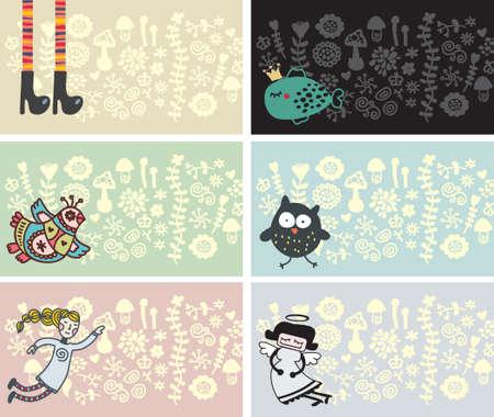 visitenkarte: Visitenkarte f�r Kinder und Kunst Personen.