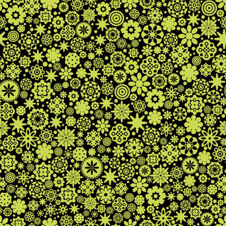 Flowers seamless pattern. Stock Vector - 12137346